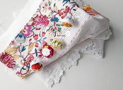pieced cloth...