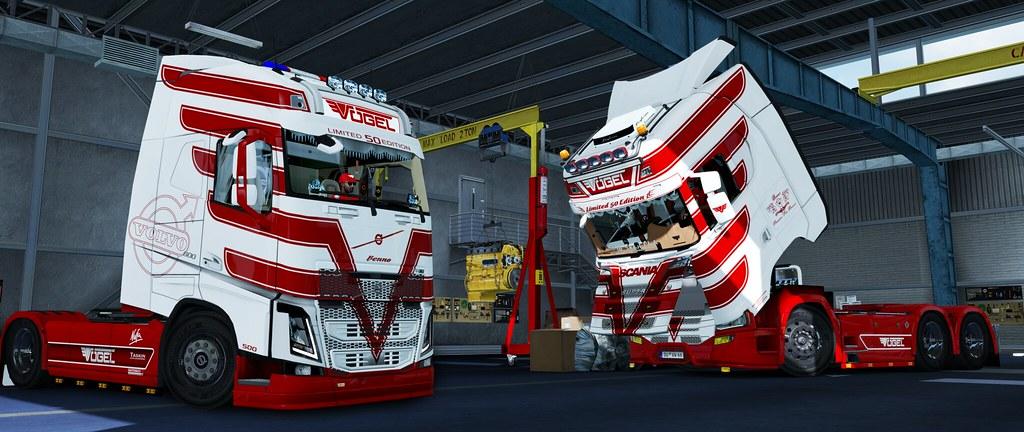Vogel A6719 - Scania 2016 & Volvo