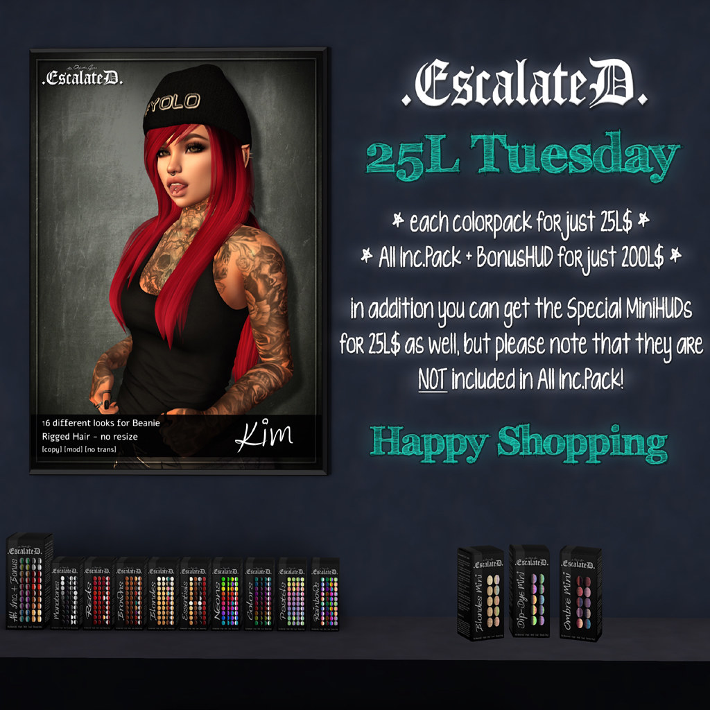 .EscalateD. | 25LTuesday | 19.Mar.19