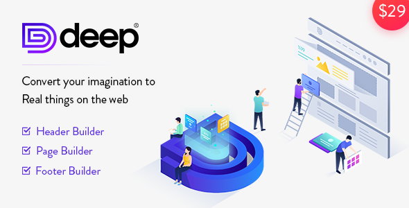 Deep v4.1.1 - Creative Multi-Purpose WordPress Theme