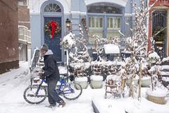 Snow in the city - Swann Street Corridor