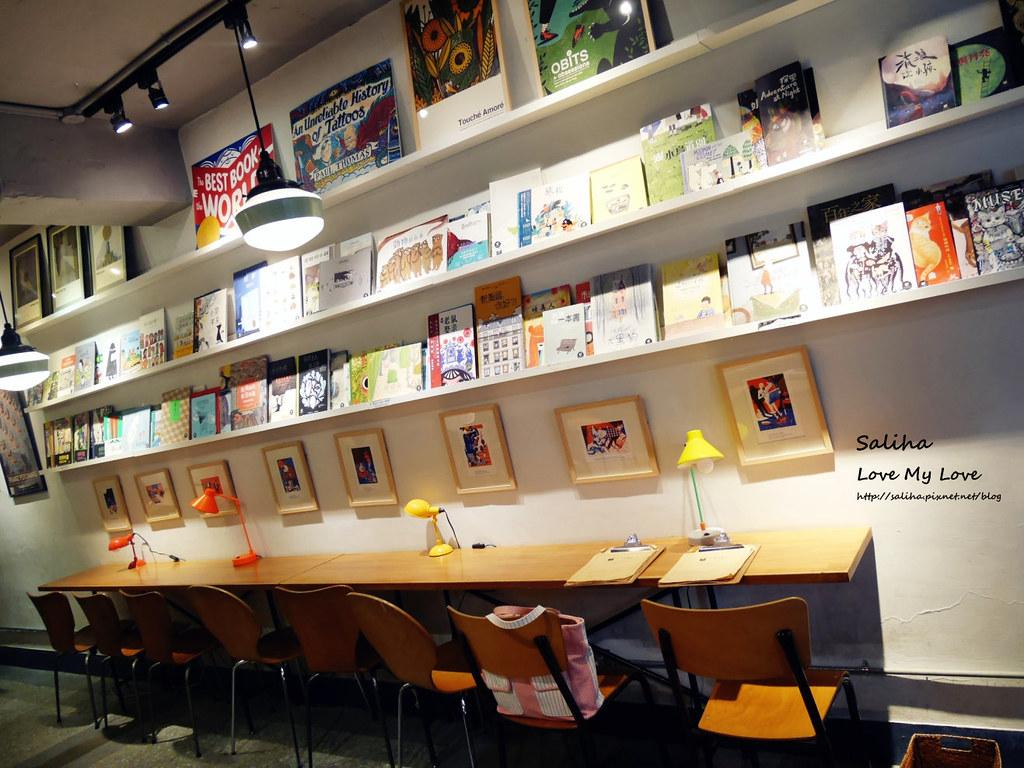 台北中正紀念堂古亭站附近不限時文青風閱讀看書繪本咖啡廳生活在他方 (2)