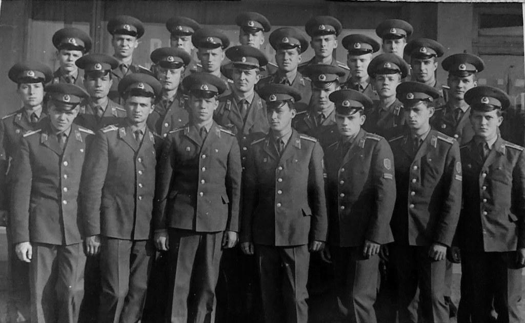 3-й взвод 3-й роты (102-й выпуск) практически в полном составе