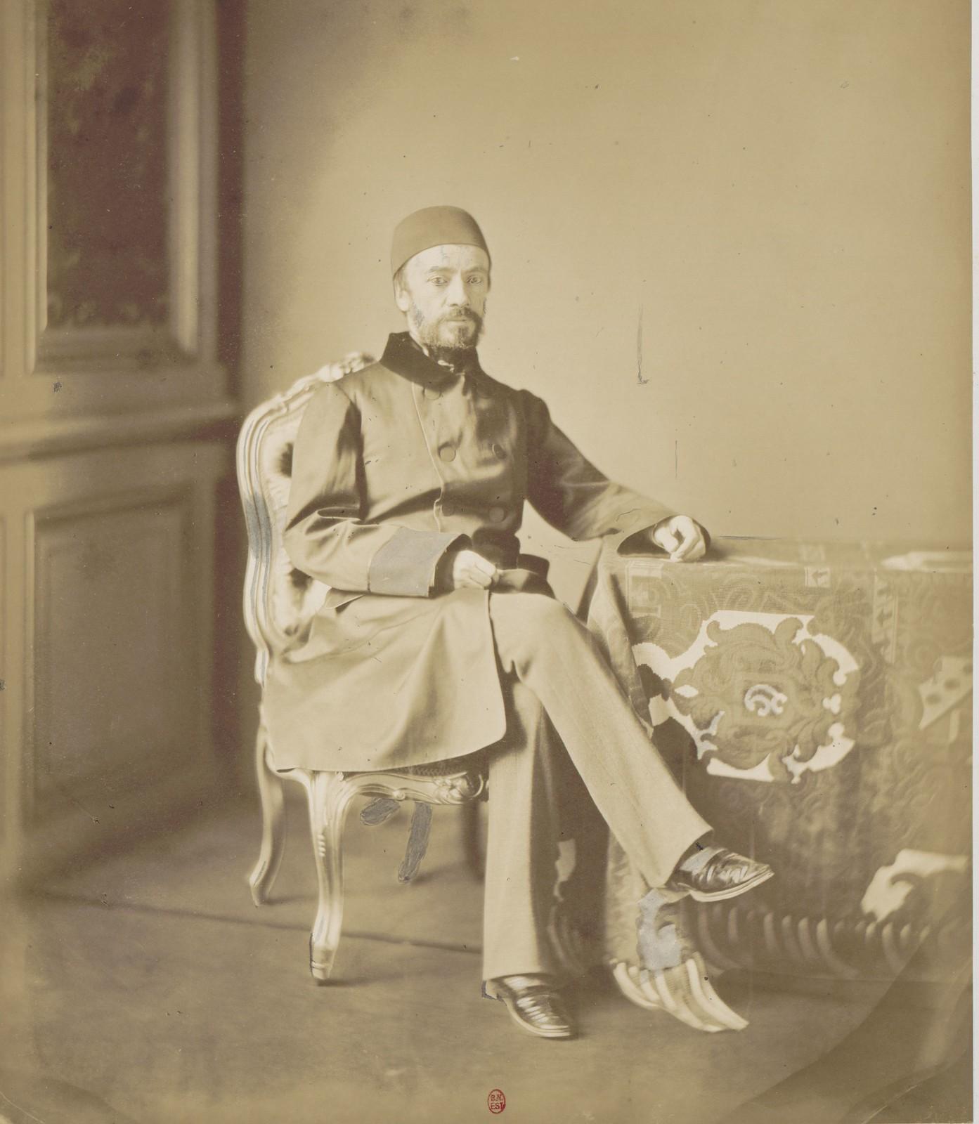 13. Великий визирь, уполномоченный Османской империи на Конгрессе Мехмед Эмин Аали-паша