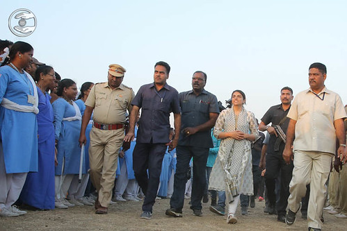 Satguru Mata Ji visits in the ground