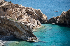 Ikaria/Ικαρία - Prioni beach and cliffs
