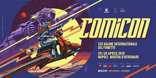 Napoli Comicon 2019 Poster