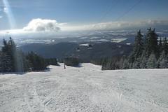 Aktuálně: čerstvý sníh i lyžování v triku