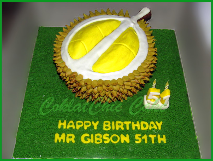 Cake Durian Mr GIBSON 22 cm