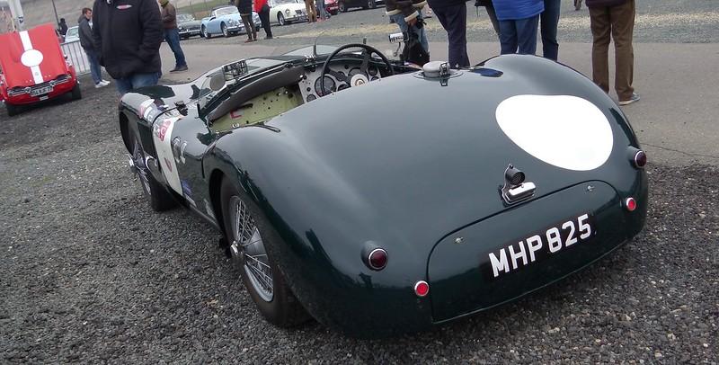 Jaguar type C - God save the cars 2019 33577857768_662a48d796_c