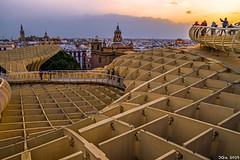 Setas de la Encarnación... Sevilla, Spain. 2019/02/17.