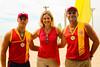 23.02.2019 - Prefeita Paula e governador Eduardo na entrega da medalha aos guarda vidas no Laranjal - Foto Michel Corvello