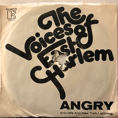 THE VOICES OF EAST HARLEM:ANGRY(JACKET A)
