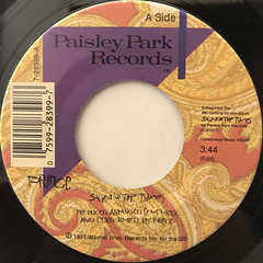 PRINCE:SIGN O THE TIMES(LABEL SIDE-A)