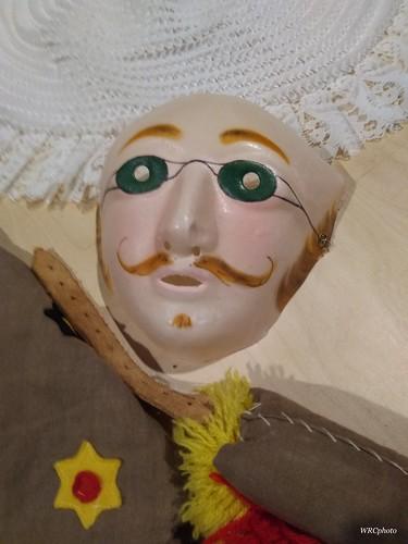 Entrée du Musée des masques à Binche.