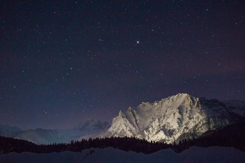 Sterne und Schnee
