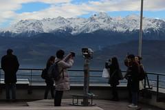 Bastille'den Alp Dağları manzarası
