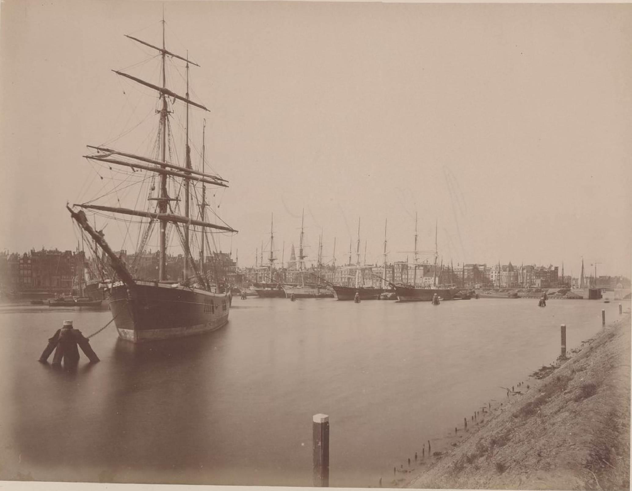 Амстердам. Оостердок, 16 мая 1888
