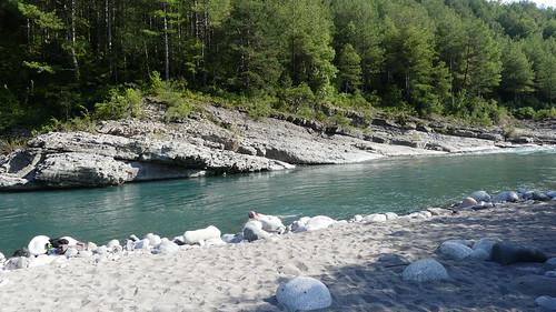 Der Fluss Cinca