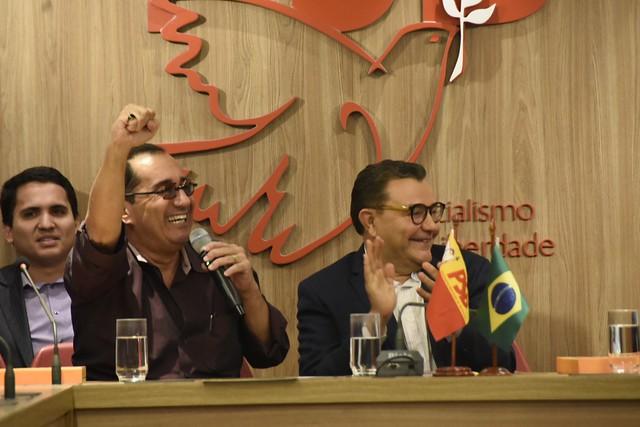 Ato de filiação do senador Jorge Kajuru - 30/1/2019