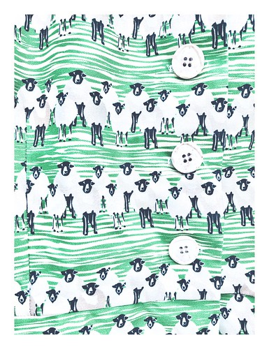 sheep o'hoy! fabulous sheep dress from palava (organic cotton), february 2019 💚🐑
