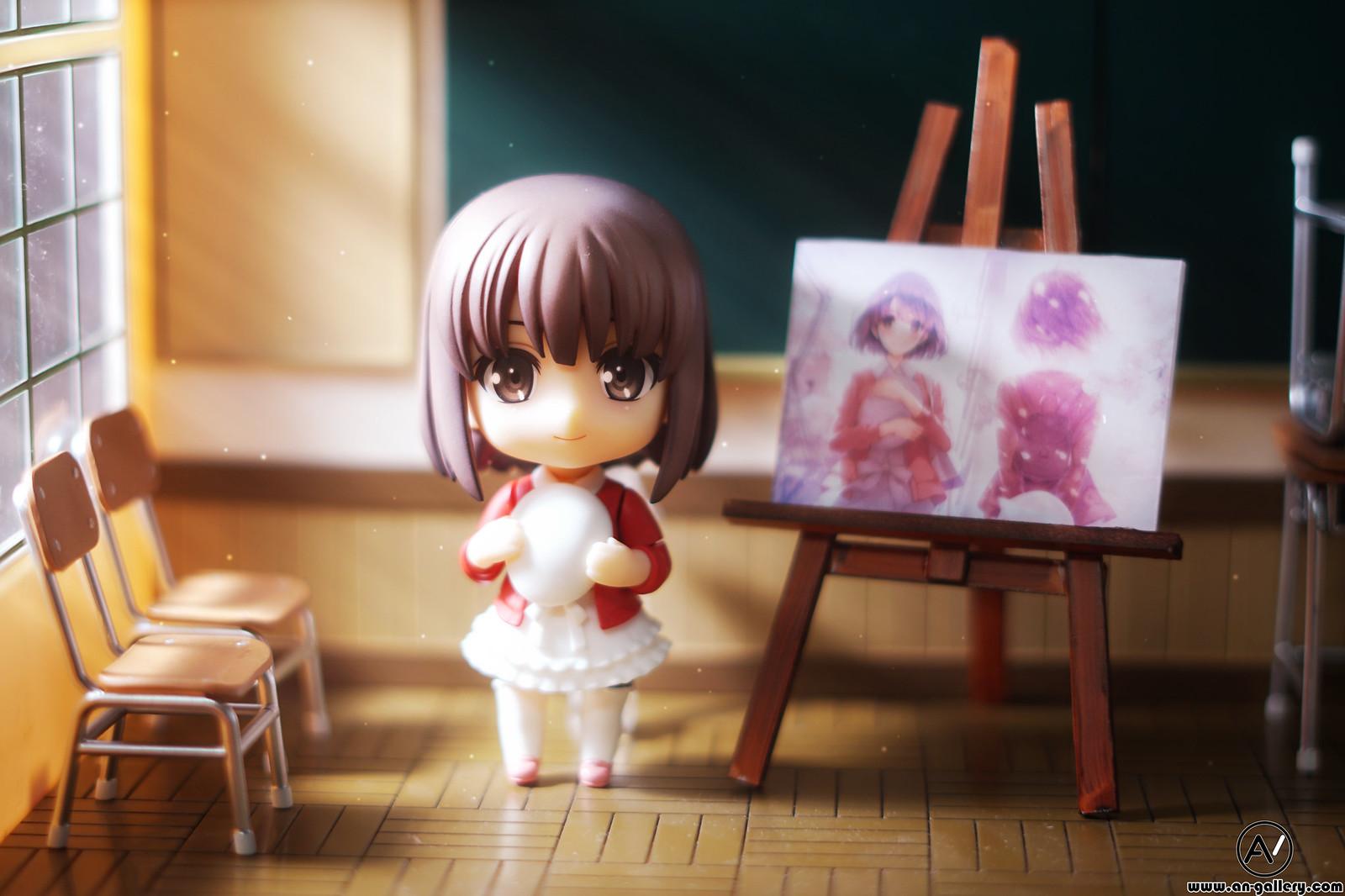 Nendoroid Megumi Kato – Classroom – Painting