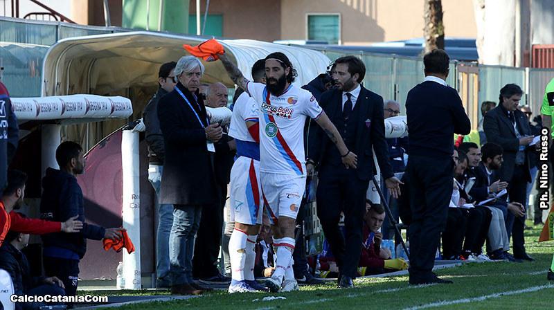 Alessandro Marotta dopo la sostituzione con Curiale