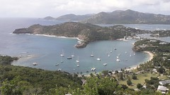 Freemans Bay, English Harbour, and Nelson's Dockyard, Antigua, Antigua and Barbuda