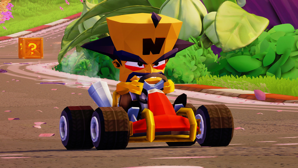 How Crash Team Racing: Nitro Fueled's PS4 exclusive retro items were