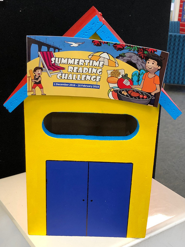 Shirley Library Summertime Reading Challenge postbox