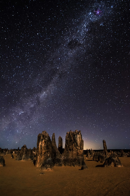 Night Sky at The Pinnacles Desert - Western Australia