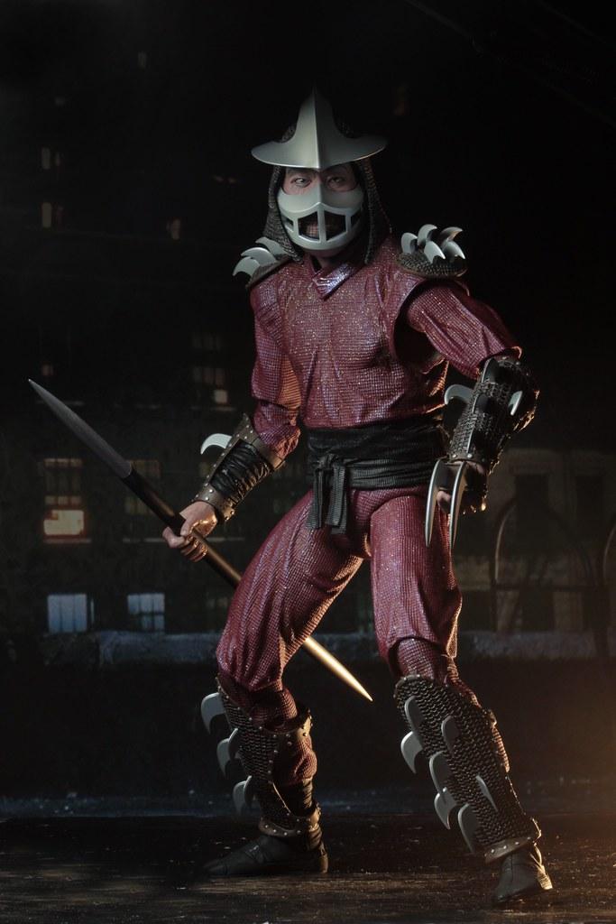 神龜四兄弟的宿敵終於現身?! NECA《忍者龜(1990)》許瑞德 Shredder 1/4 比例人偶作品 情報公開!