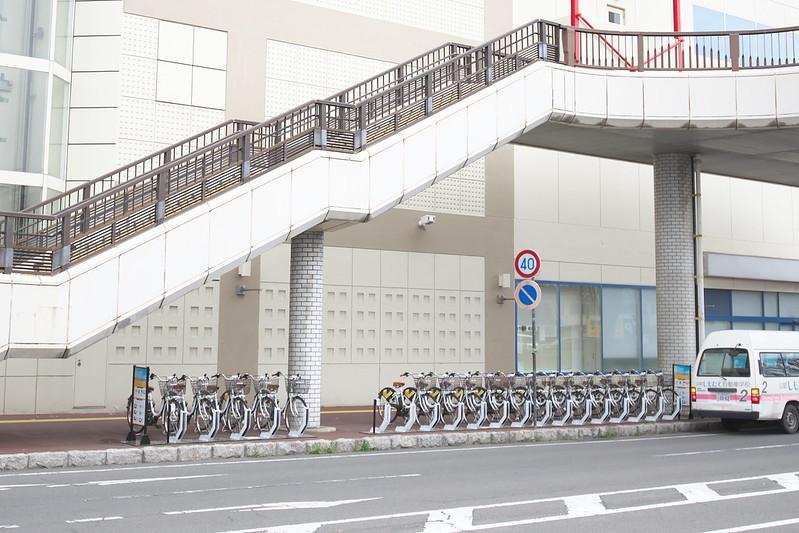 茨城県筑西市 コミュニティサイクル