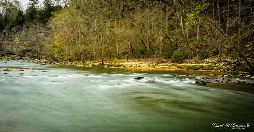 Upstream ripple rapids