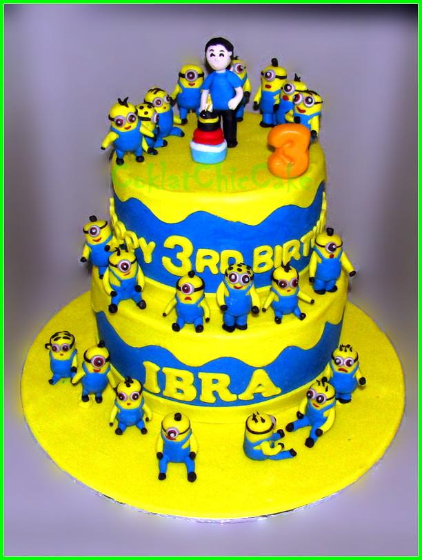 Cake Minions IBRA 20/15