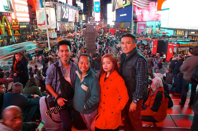 Traveling in New York City with Friends