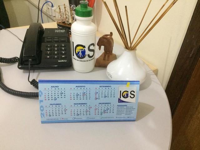 ICS lança calendário personalizado