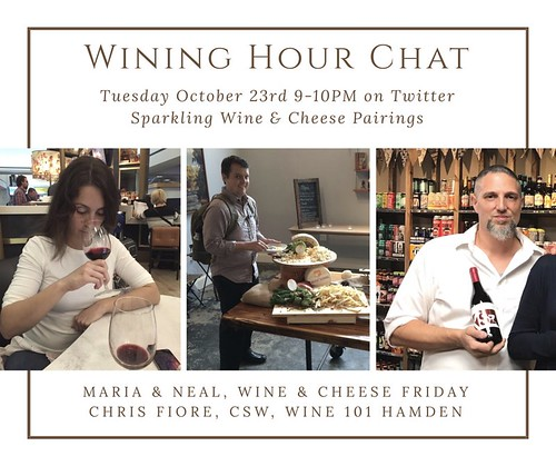 Wining Hour Chat with Wine101Hamden Oct 2018