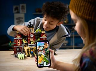 小心~到處都有鬼怪出沒!虛實結合的有趣體驗! 樂高發表全新系列【LEGO Hidden Side】全新玩法登場~