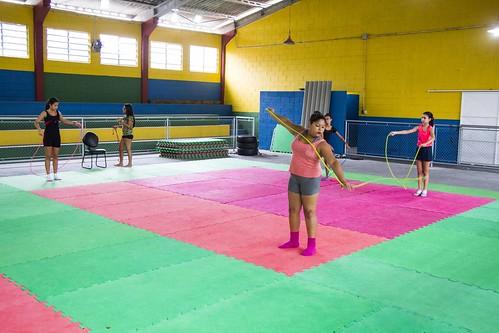 Novo ano, nova modalidade:  Aulas de ginástica rítmica estão com inscrições abertas