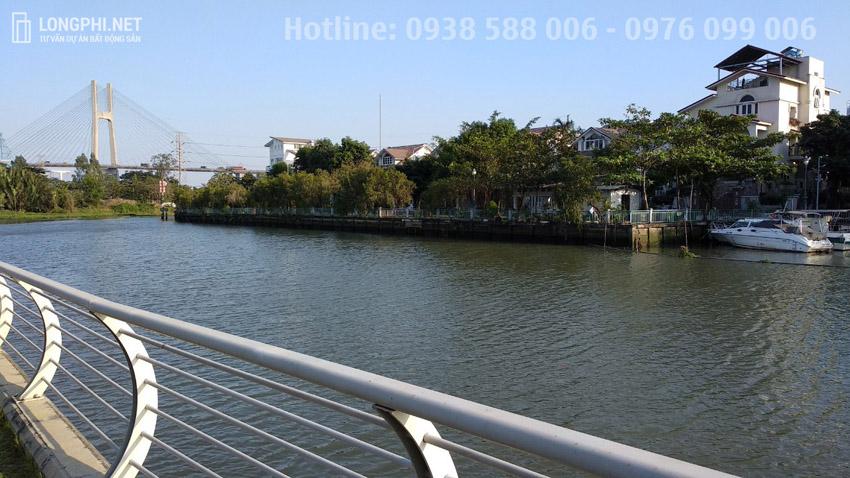 Biệt thư đơn lập view sông Jamona Golden Silk quận 7.