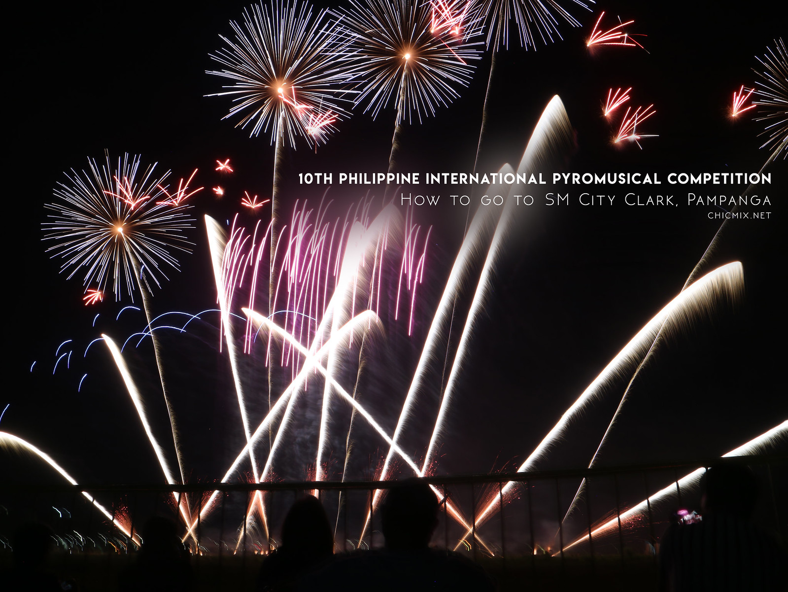 10th International PyroMusical Competiton 2019 | How to go to SM Clark