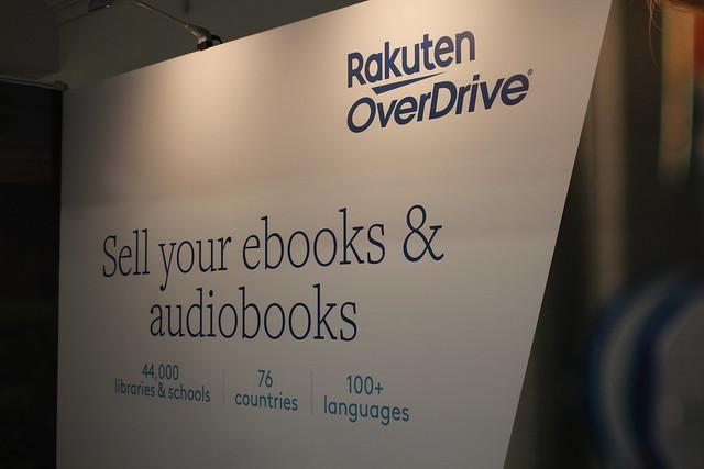 Rakuten OverDrive - Foire du Livre de Londres 2019