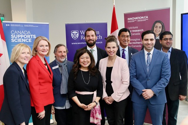 John R. Evans Leaders Fund announcement at Western University