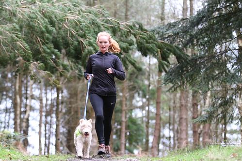 Runner with dog.  7DA_0936
