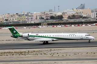 Iraqi Airways Canadair CRJ900 YI-AQE