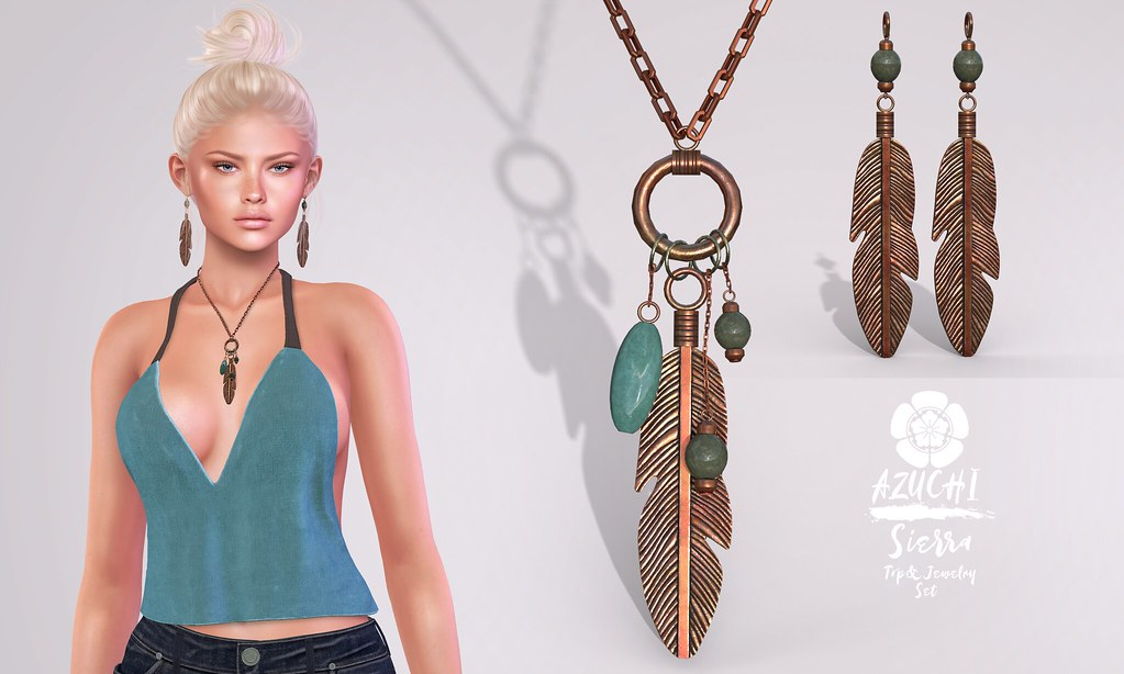 [Azuchi] Sierra Top&Jewelry Set