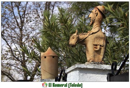 don Quijote y su molino