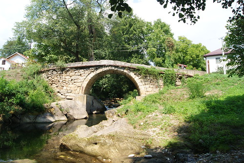 bogomila village bridge ancient roman stones babuna river macedonia macedonian republic nature masonry work beautiful architecture natural construction famoous