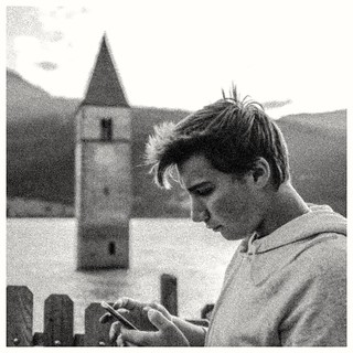 Young Man In Italy